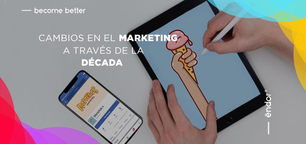 Cambios en el marketing