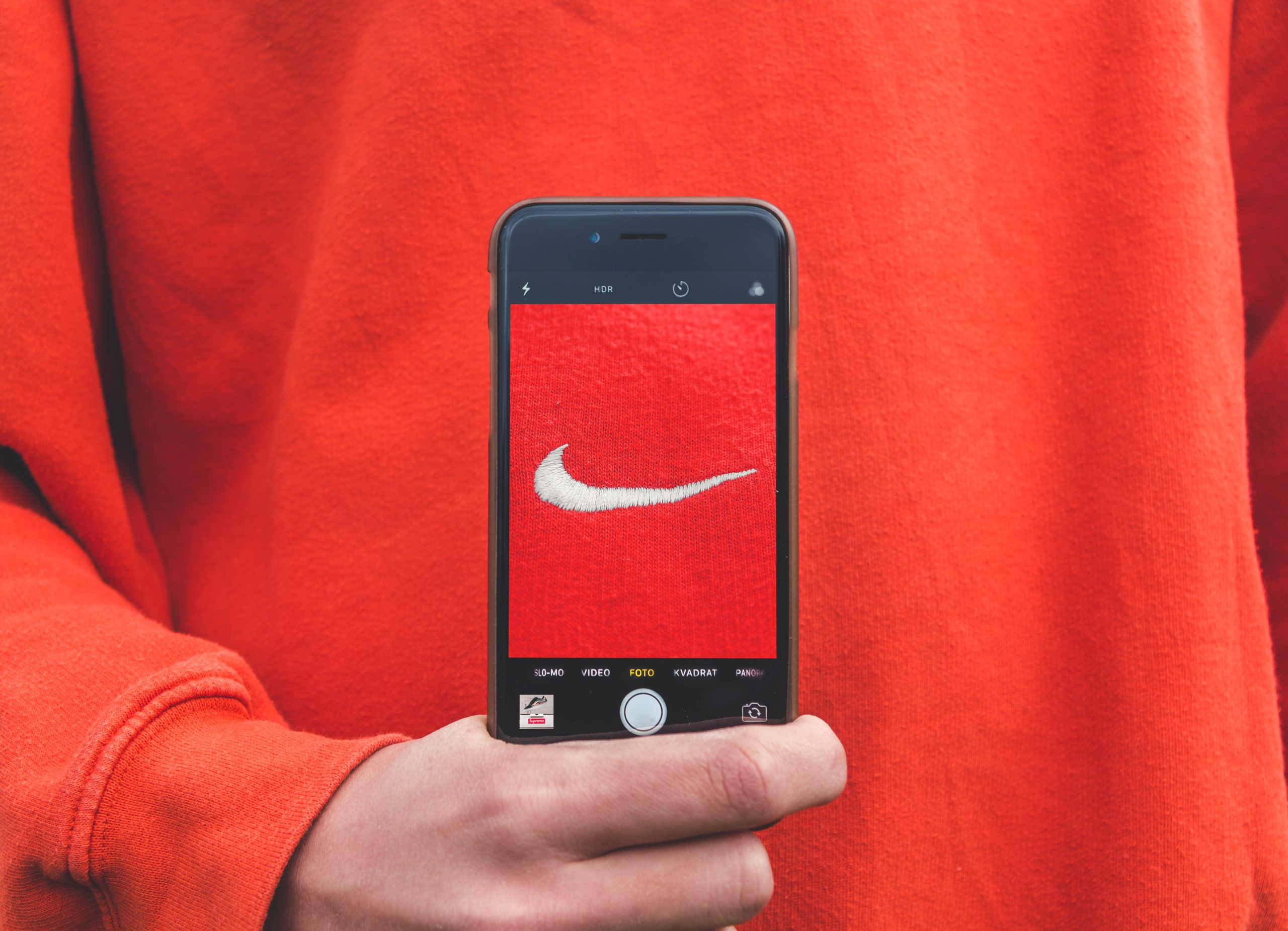 Nike: ejemplo de branding comercial.