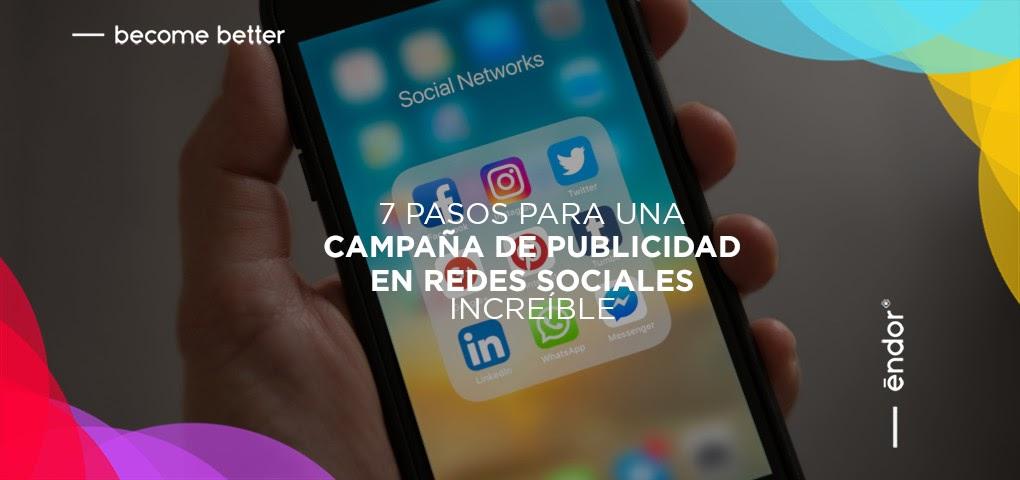 Campaña de publicidad en redes sociales